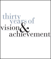 thirty years of vision and achievement